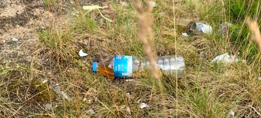 Urin på flasker, bot og irriterte sjåfører