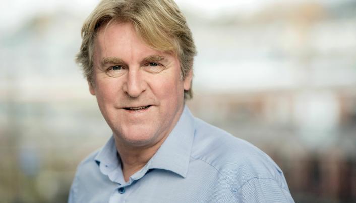 Bernt Jakobsen, distriktssjef Peab Anlegg.