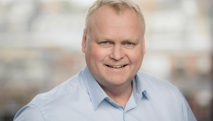 Olle Eurenius, avdelingssjef Peab Anlegg.