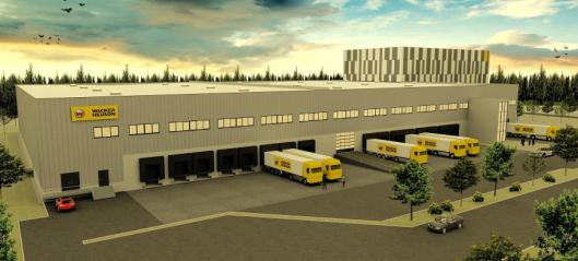 Wacker Neuson bygger nytt logistikksenter