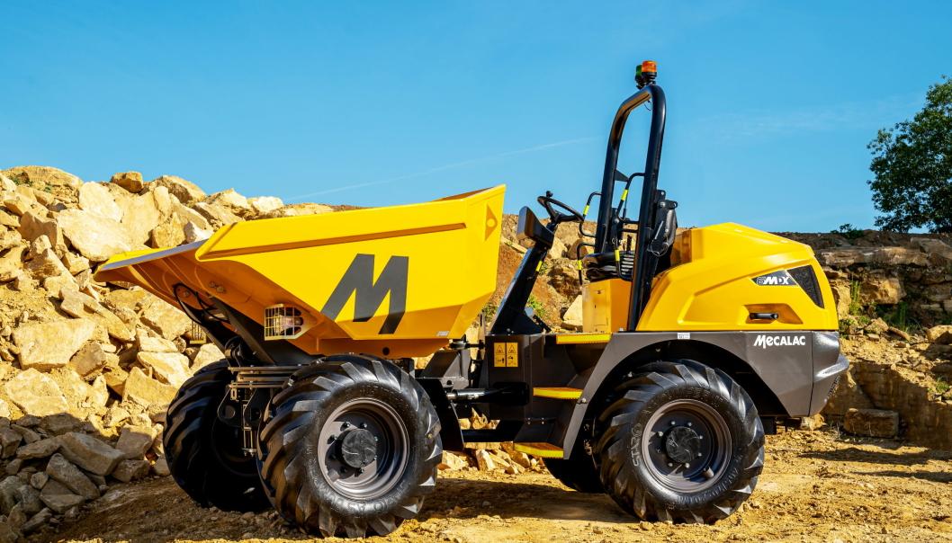 Modellen 6MDX er klar for markedet. Foto: Mecalac