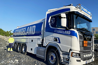 Stangeland Maskin har nådd 100% Euro 6 på lastebilene