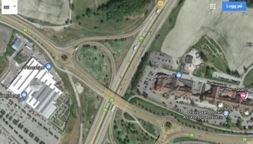 I E6-krysset på Hvam ved Olavsgård skal på- og avkjøringsrampene i henholdsvis sørgående og nordgående retning utvides for å gi plass til kollektivfelt.