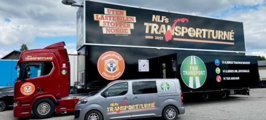 NLF drar på landsdekkende transportturné