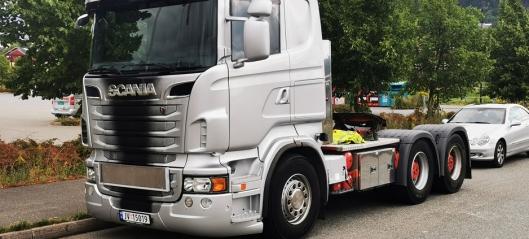 Frekt tyveri av Scania R730