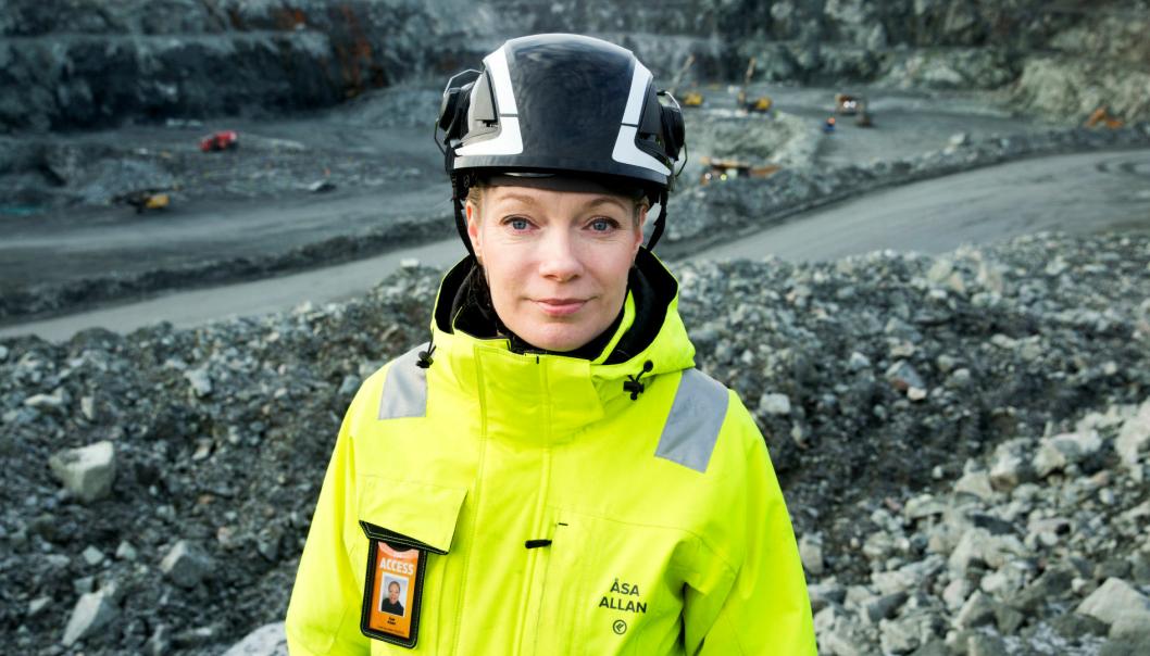 - Dersom myndighetene ikke vil at vi skal drive en miljøvennlig gruve med flere hundre ansatte og flere hundre millioner kroner i skatteinntekter, da er det slutt, sier Åsa Allan, viseadm. direktør i Kaunis Iron i Sverige.