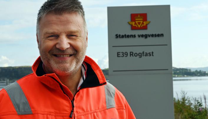 Prosjektleder Oddvar Kaarmo i Statens vegvesen er glad for å komme i gang med å bygge Rogfast.