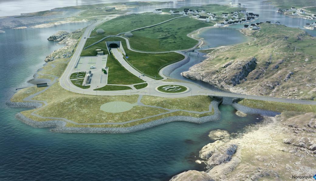 Hæhre/Risa skal bygge veiforbindelse fra Kvitsøy ned til den kommende hovedtunnelen på E39 Rogfast.