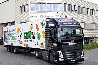 Asko Transport tester el-vogntog i Norge