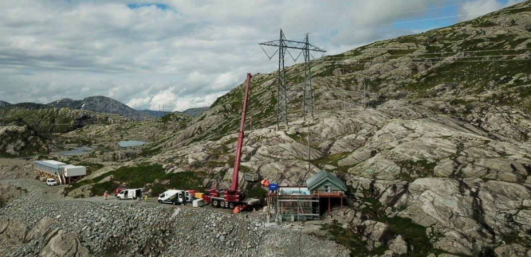 I FJELLHEIMEN: Slike lukehus finnes det mange av i norsk fjellheim, og de trengs for å opprettholde en stor norsk næring: Vannkraftproduksjon. Foto: BKK