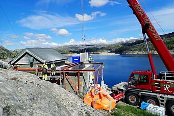 Krevende vannkraft-rehabilitering i fjellheimen