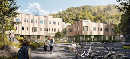 Veidekke bygger ny barneskole i Tvedestrand