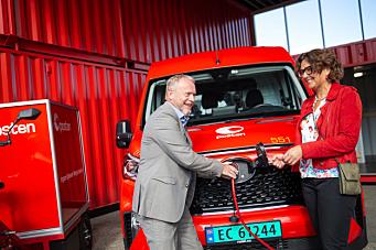 Posten har bestilt 90 nye el-kjøretøy til bruk i Oslo