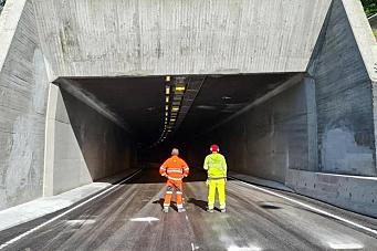 Hamangtunnelen åpnes for trafikk i dag