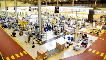 FRA DIESELMAX: Hydrogenmotoren og konseptet er utviklet ut fra en JCB Dieselmax 448 dieselmotor. Foto: JCB
