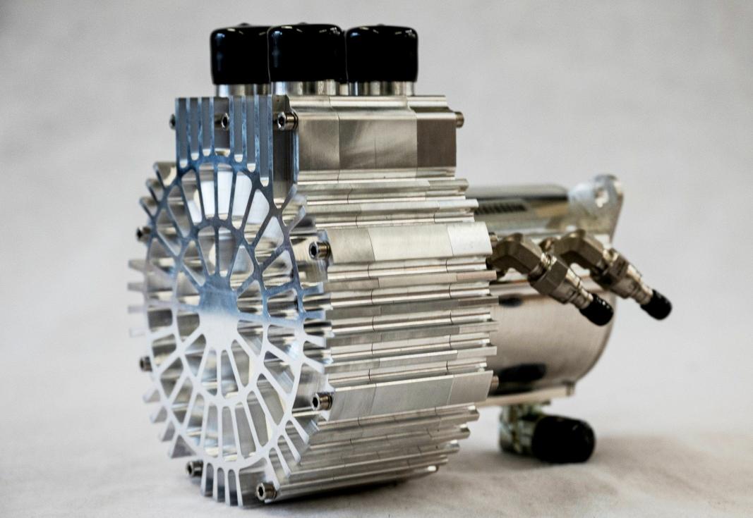 VAIREX: Lufttilførselkompressorer brukes i stasjonære så vel som mobile brenselceller. Foto: Eberspächer