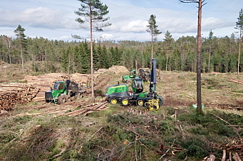 AltiSkog kjøper ti skogsmaskiner