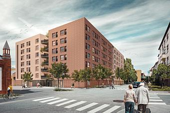 Veidekke bygger Majorstuhjemmene i Oslo