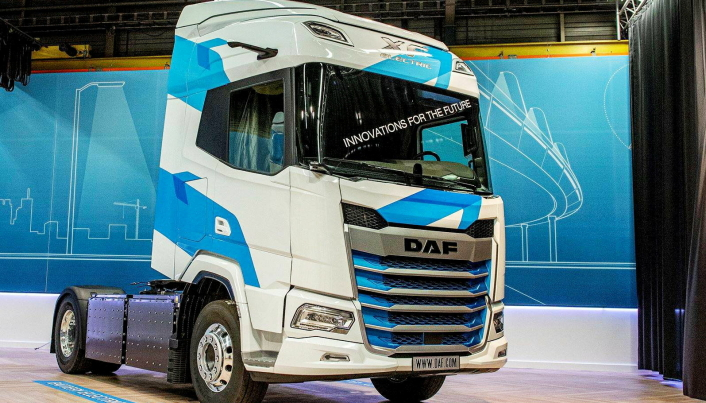 BATTERIELEKTRISK: I fremtiden vil vi få se en XF-batterielektrisk trekkvogn.