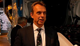 MANGE RETNINGER: DAFs Ron Borsboom, direktør produktutvikling , må tenke mange parallelle tanker for å oppfylle fremtidens utslippskrav.