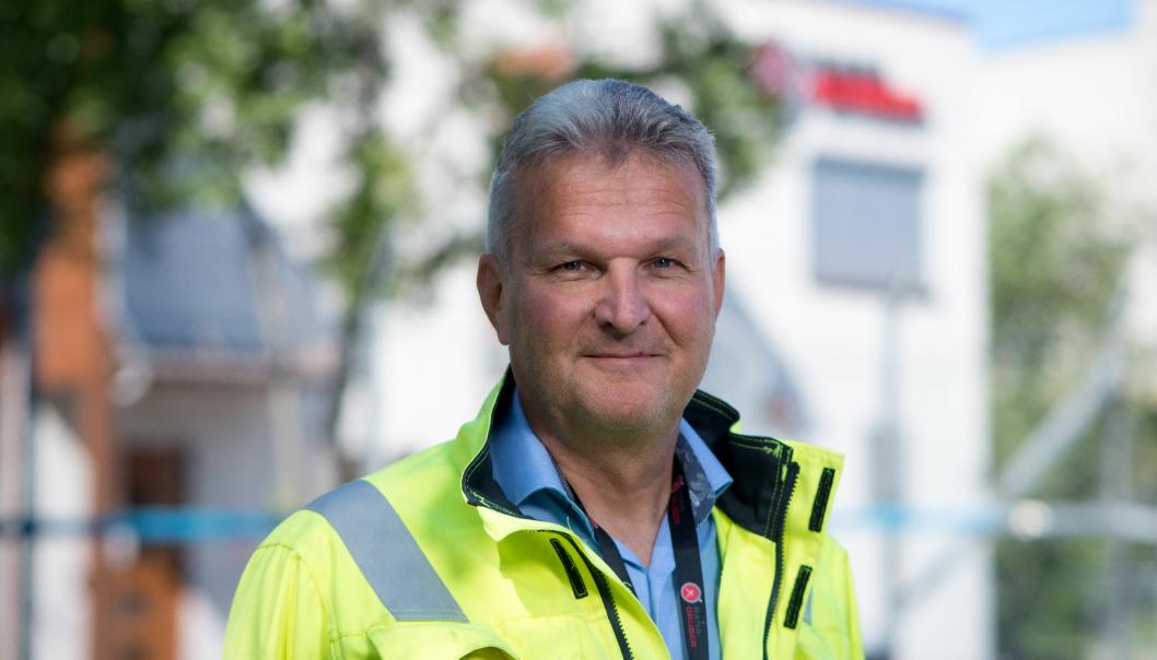 Konsernsjef Gunnar Moe i Rana Gruber legger i dag frem selskapets resultater for første halvår 2021.