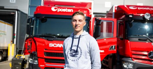 Posten kjører el-lastebil fra Oslo til Tromsø