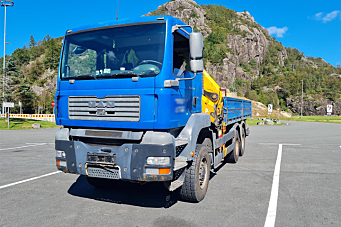 Utenlandsk kranbil hadde vært på jobb i Norge siden januar