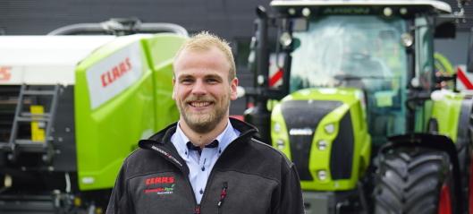 Ny traktorsjef hos Norwegian Agro