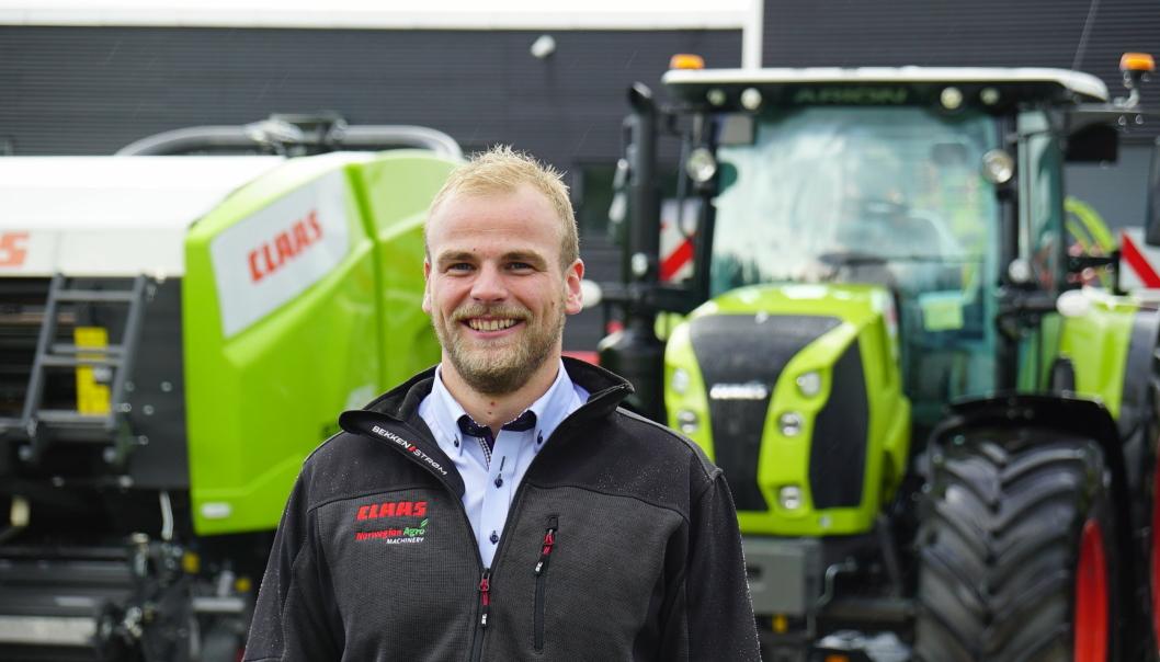Håvard Johansen Lindgaard startet som salgs- og produktsjef i Norwegian Agro i august.