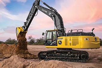 Suksess med John Deere veihøvler kan åpne opp for gravemaskiner