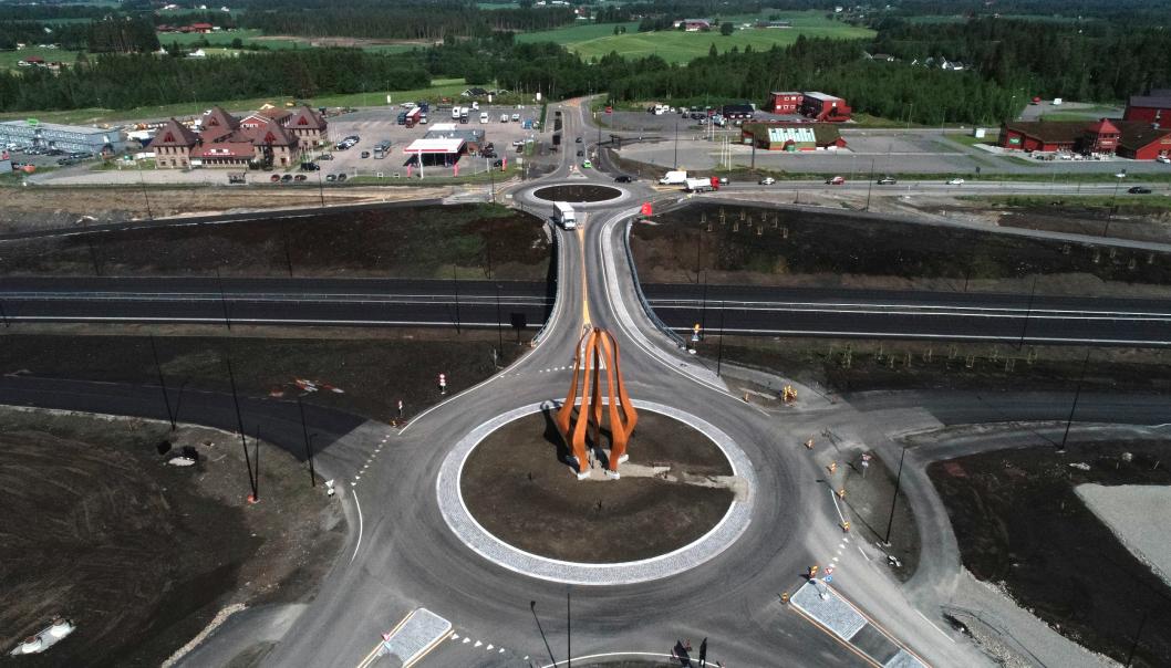 Ånestadkrysset er en del av prosjektet Riksvei 3/25 Løten-Elverum.