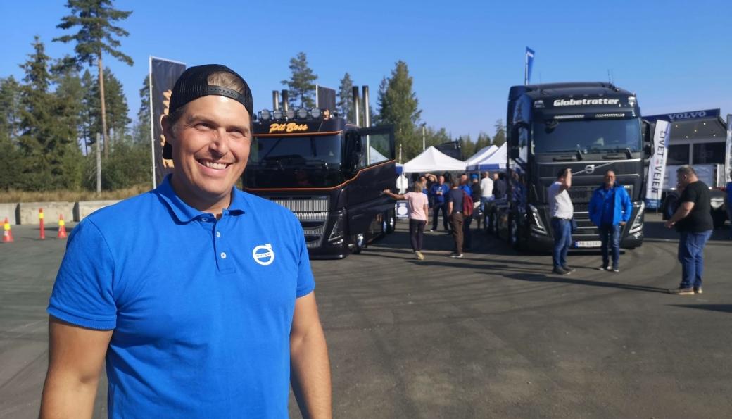 Regionsjef Even Øimoen hos Volvo Trucks i Norge.