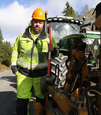 - Ingen andre leverandører kan måle seg med Felleskjøpets verksted og delelager i Steinkjer, sier en skråsikker og fornøyd Mekal Andreas Røliaunet.