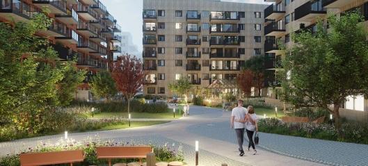 Nytt boligoppdrag på Løren i Oslo