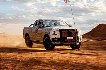 Neste generasjon Ford Ranger