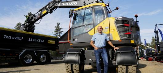 Kort og kompakt hos Volvo Maskin