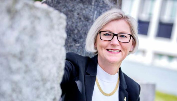 Randi Skirstad Grini, direktør for Direktoratet for mineralforvaltning med Bergmesteren for Svalbard (DMF) er veldig godt fornøyd med at den norske mineralnæringen har klart seg godt gjennom pandemien.