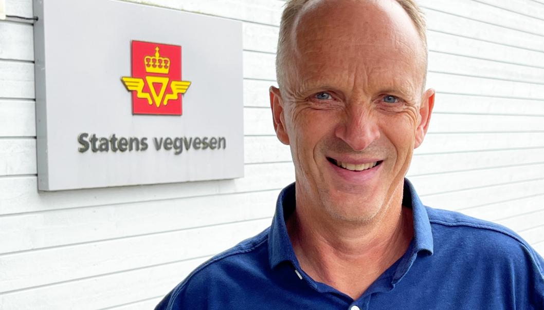 Sverre Ottesen, prosjektleder E39 Stord-Os (Hordfast).