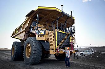 Caterpillar og gruveselskap utvikler selvkjørende og utslippsfri tipptruck