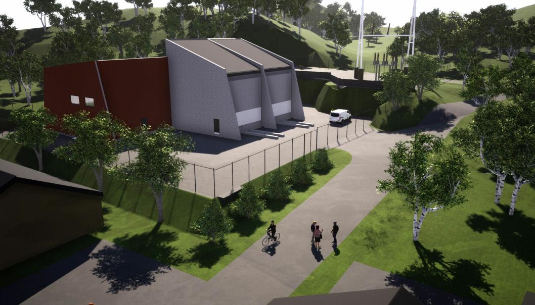 Byggingen inkluderer oppgradering av transformatorstasjonen på Dalen og ny stasjon på Veland og Hjelmeland (illustrasjonen).