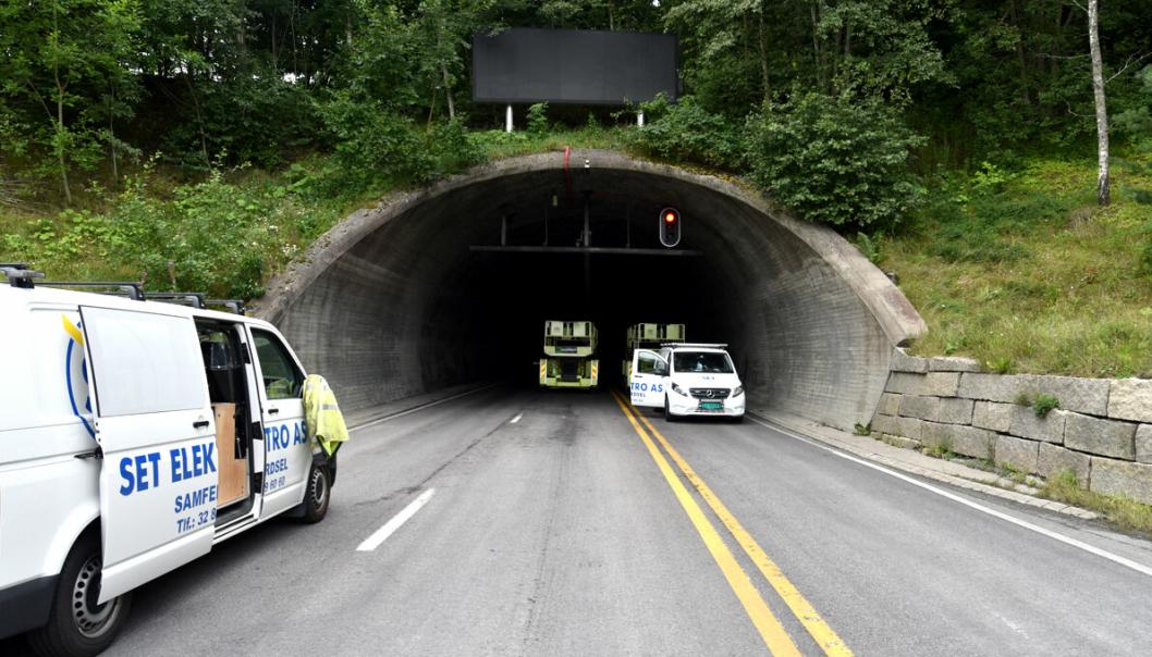 Natt til 21. september starter arbeidet med å skifte ut den gamle belysningen i Oslofjordtunnelen med ny, moderne led-belysning.