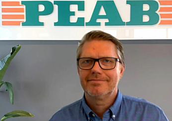 Frode Pettersen, innkjøpssjef i Peab.