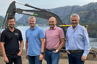 Rental.one kjøper 95 nye Volvo-maskiner