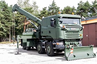 Pansret «Scania 8x8» tungberger