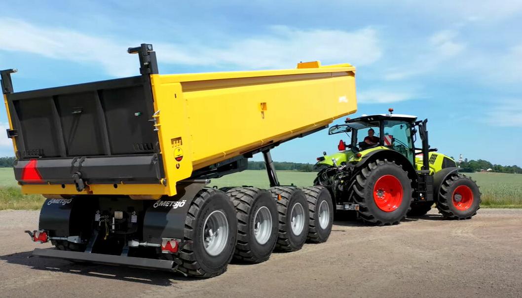 Metaflex 60-75 4x krokhenger for traktor.