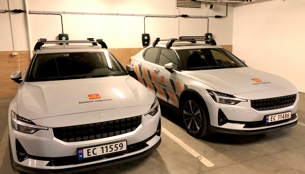 Statens vegvesen, Volvo og Polestar skal hente ut detaljert informasjon fra Vegvesenets biler som er ute og kjører.
