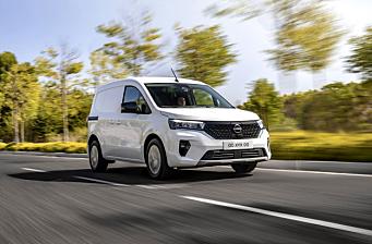 Nissan lanserer varebilen Townstar
