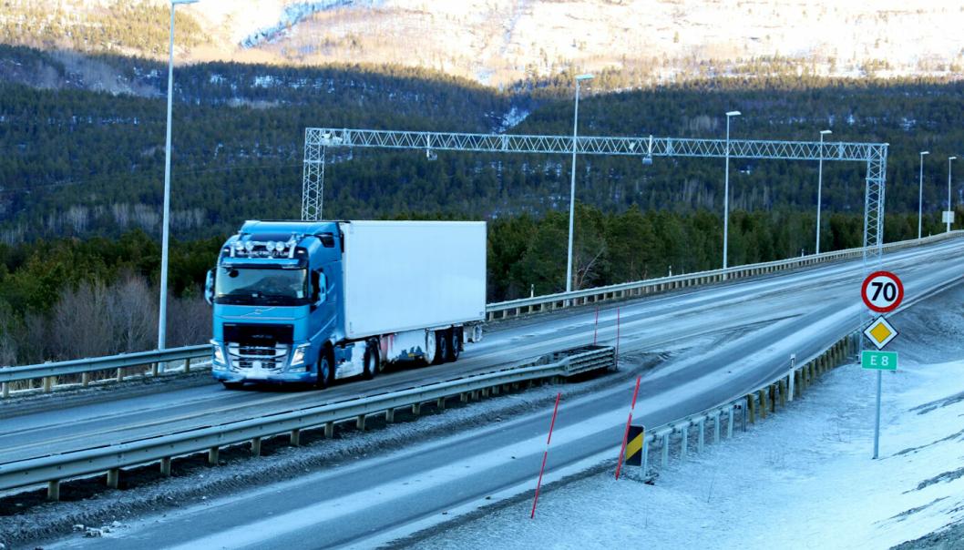 Kjørende på E8 Skibotndalen skal utsettes for GPS-jamming av Statens vegvesen i to dager.