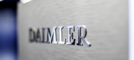 Daimler AG skiller ut lastebildelen av konsernet