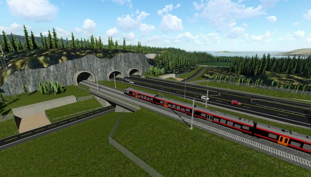 Nye Veier AS skal bygge en strekning av Ringeriksbanen, og får i forbindelse med tilført et lån for kortsiktige utgifter.